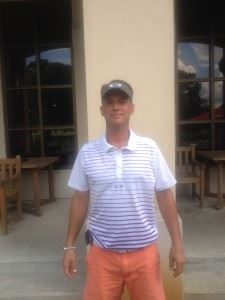 Jeremy McGatha (pictured) and Marcus Harrell both made holes-in-one during Sunny King practice rounds this week.