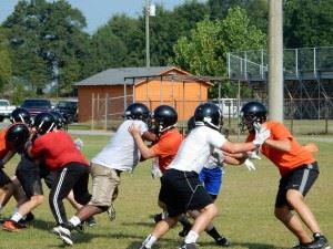 Alexandria players work to bounce back from a rare losing season in 2013.