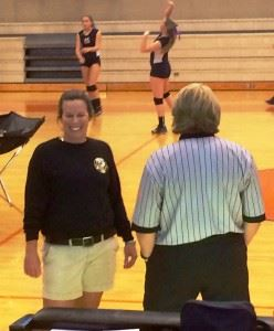 Oxford coach Wendy McKibbin