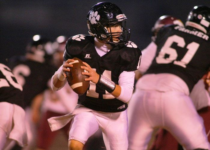 Freshman quarterback Austin McQueen directed Wellborn to nearly 300 yards of offense in his first varsity start.