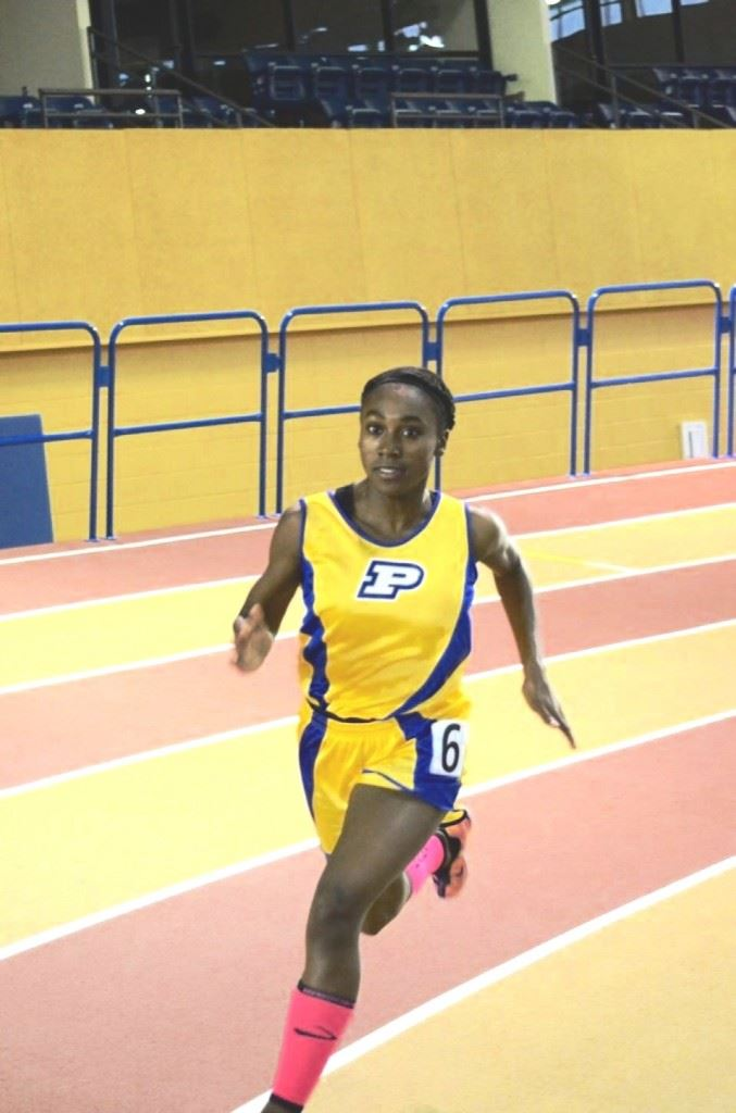 Piedmont junior Karri Green is ranked first in two events and second in another going into this weekend's state indoor track championships. (Special photo)