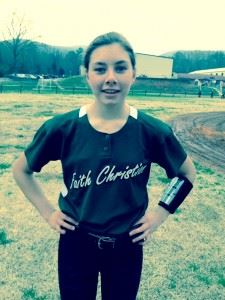 Faith freshman Presley Whitten pitched a two-hit shutout.