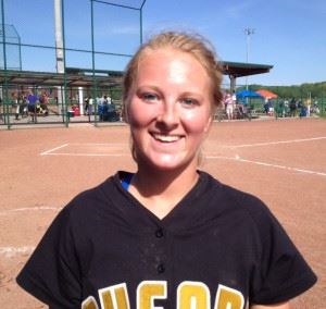 Kendra Larkin's walk-off homer against Catholic was one of several dramatic moments on Oxford's road to the tournament title.