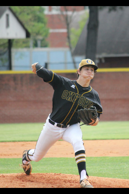 Oxford's Jake Cook signed today to play baseball at Birmingham Southern. (Photo by David Miller/courtesy Cook Family).