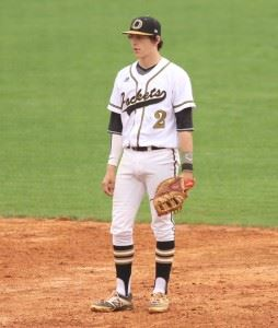 Oxford's Jake Cook is going to Birmingham Southern as a pitcher, but his college experience could expand as he has experience at all four infield positions for the Yellow Jackets. (Photo by Kristen Stringer/Krisp Pics Photography).