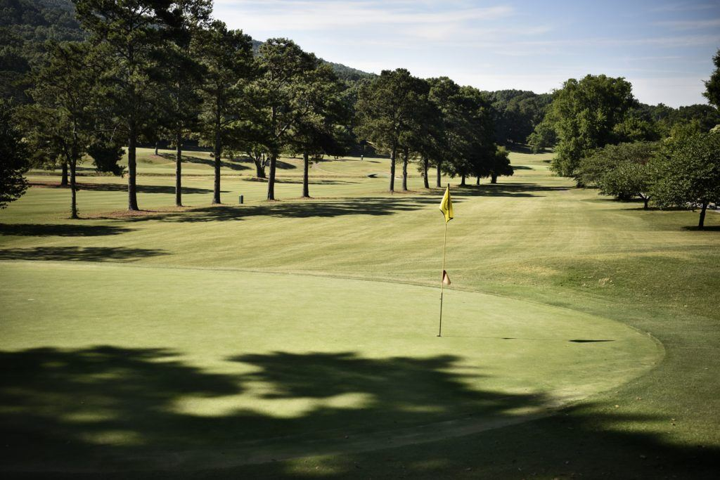 No. 13 is a short par-4 tucked between a long par-3 and the hardest hole on the back nine.