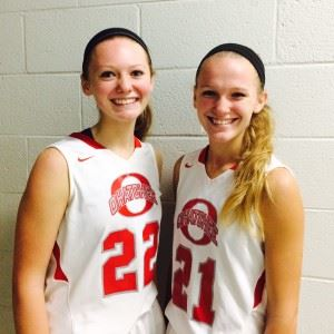 Sisters Madison (22) and Makenzie Hanks.