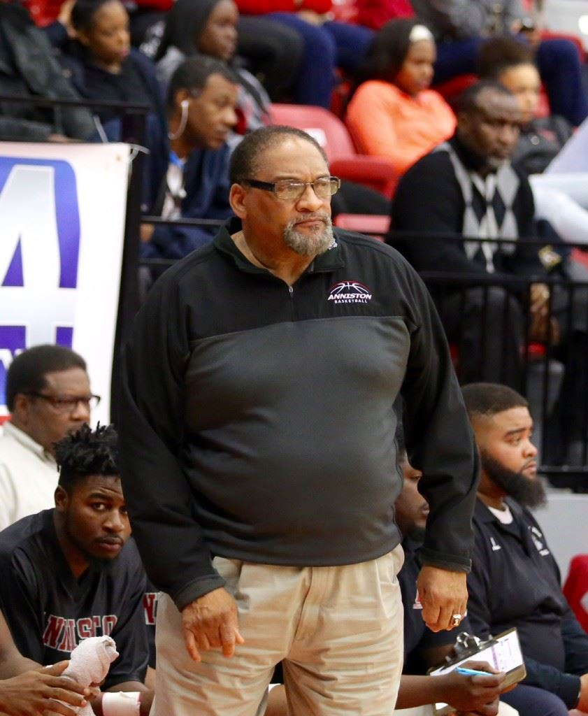 Anniston basketball coach Schuessler Ware will retire with no regrets after 19 seasons with the Bulldogs at the end of the season. (Photos by Kristen Stringer/Krisp Pics Photography)