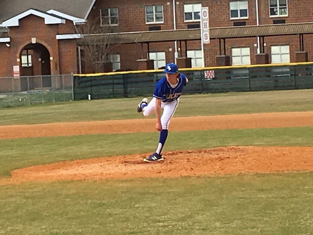 White Plains' Andrew Cronan pitched four strong innings before Ohatchee reached him late in the game. On the cover, Michael Cherry delivered the game-winning hit for the Indians.