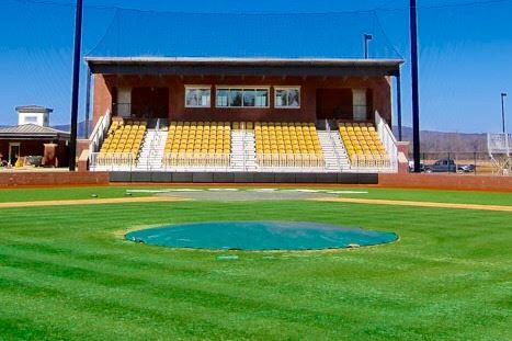 The Oxford baseball team is scheduled to play the first game on the signature field of Choccolocco Park Friday. (Photos courtesy of the City of Oxford)