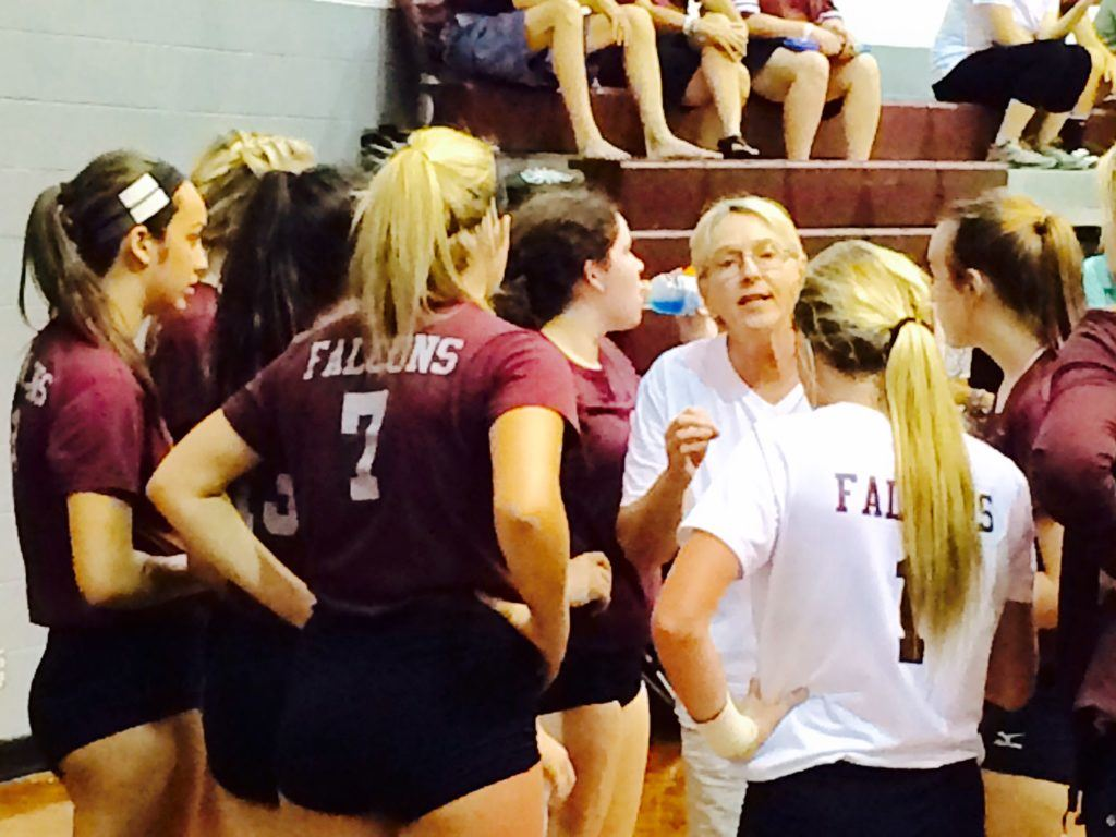 Janice Slay is retiring as Donoho's volleyball coach with more than 280 wins and two state championships.