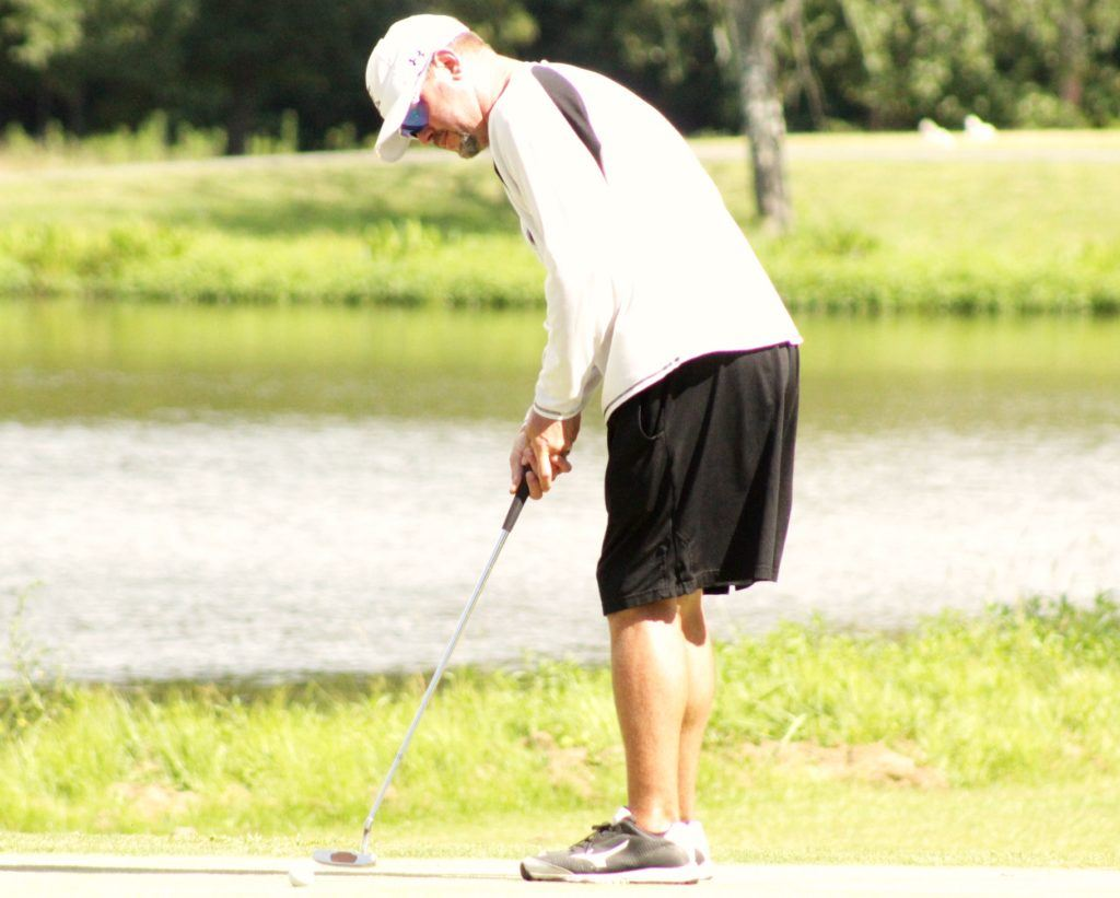 Ty Cole says making putts has been the key to his run of tournament wins. (Photo by Shannon Fagan)