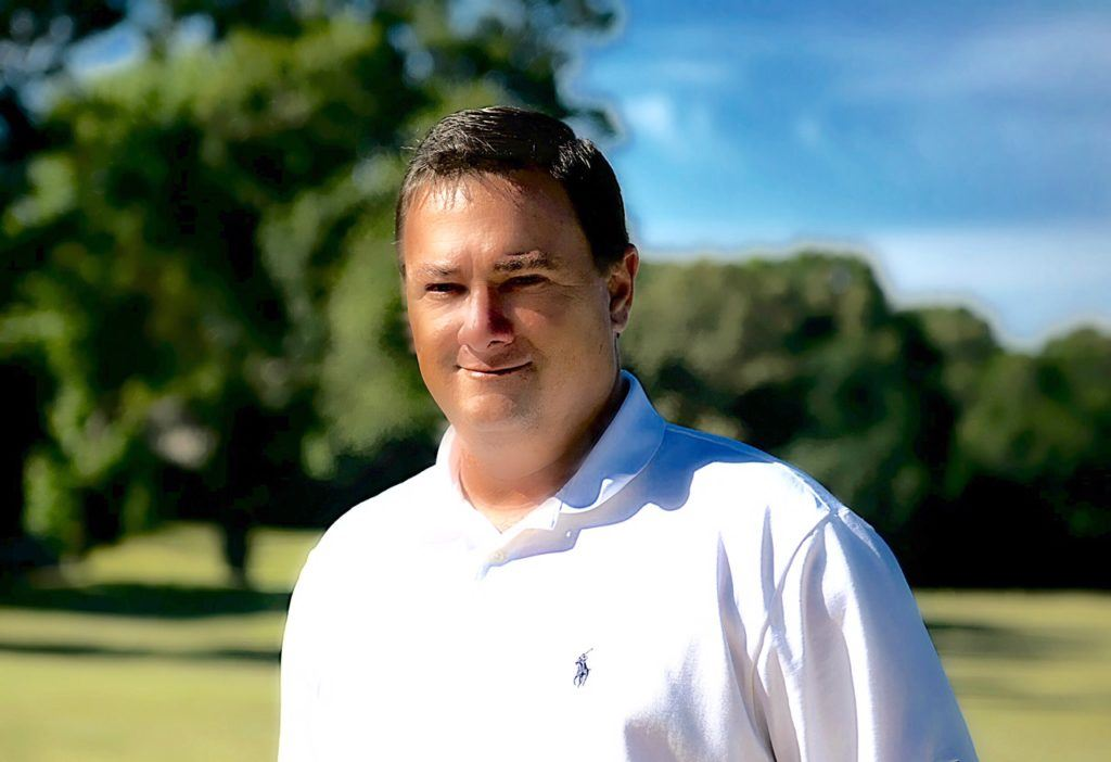 Steven Driggers, the new GM/head pro at Anniston Country Club, is experiencing the Sunny King Charity Classic for the first time. He's no stranger to big events, however, having overseen several at his previous posting in Greenville, Miss. (Photo by Sandra Howell)