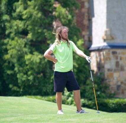 Christian Rogers (and partner Josh Poole) tees off at Anniston CC at 9 a.m. Sunday. (Photo by B.J. Franklin/GungHo Photos)