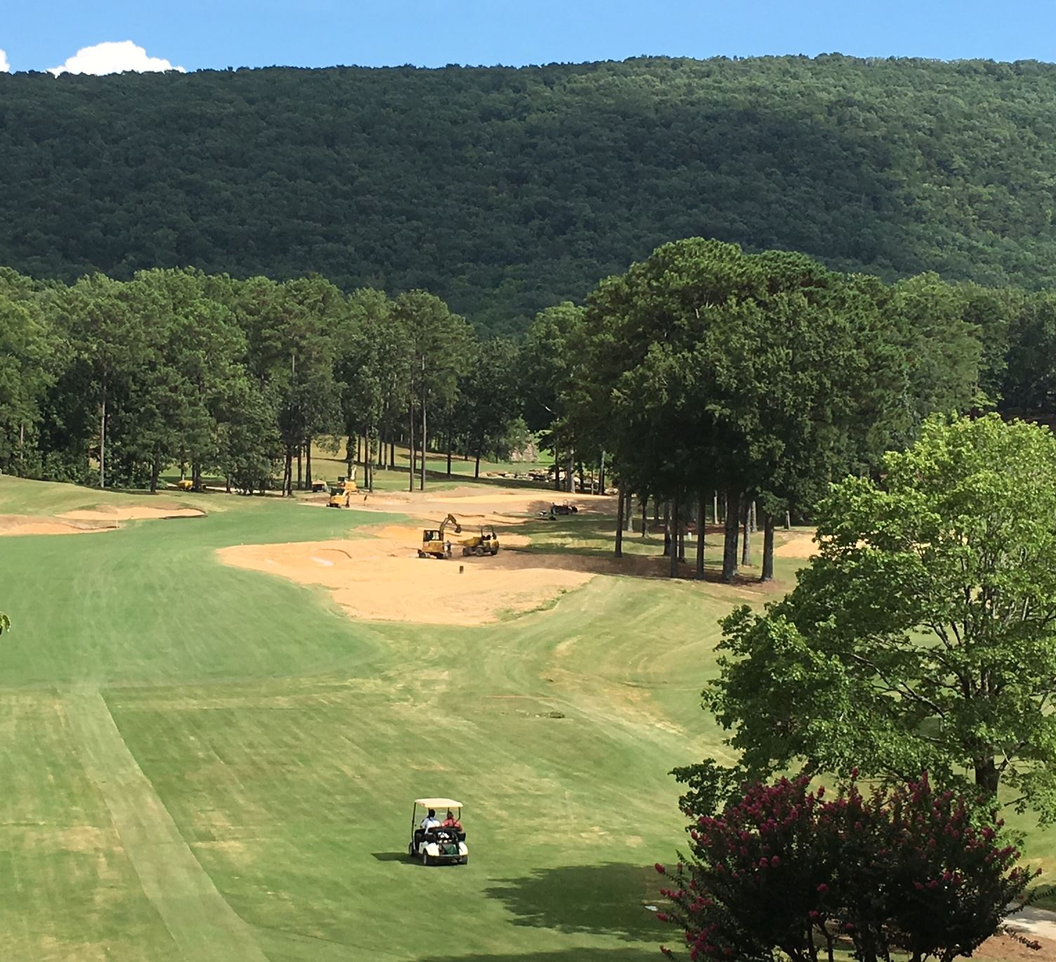 Shoal Creek changes coming along nicely - E.A. Sports Today