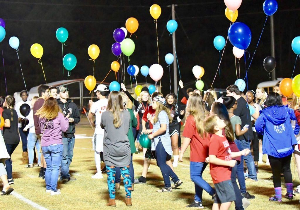 Weaver fans get ready to form the Spirit Line before the final regular-season game at Weaver Friday. (Photo by B.J. Franklin/GungHo Photos)