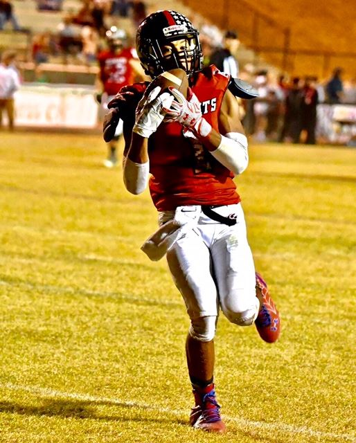 Maurice Goodman scored two touchdowns in the second quarter that gave Weaver a 21-7 halftime lead.