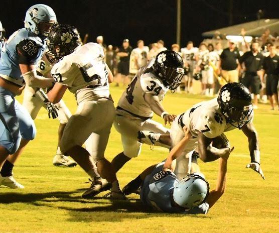 Every week is a battle in Class 3A Region 5 (Photo by Daniel Lee)