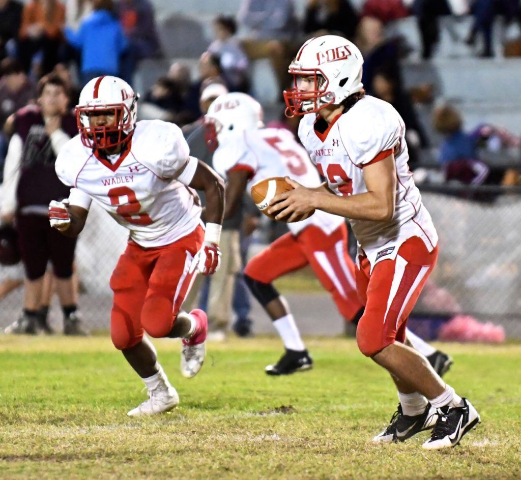 Tyrese Sheppard (2) and Connor Fordham have Wadley's offense moving in the right direction. (Photo by B.J. Franklin/GungHo Photos)