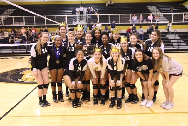 Oxford and Alexandria (cover) are among seven area champs among the 10 Calhoun County teams playing in this week's AHSAA volleyball regionals. (Inside photo by by Kristen Stringer/Krisp Pics Photography/Cover photo by B.J. Franklin/GungHo Photos)